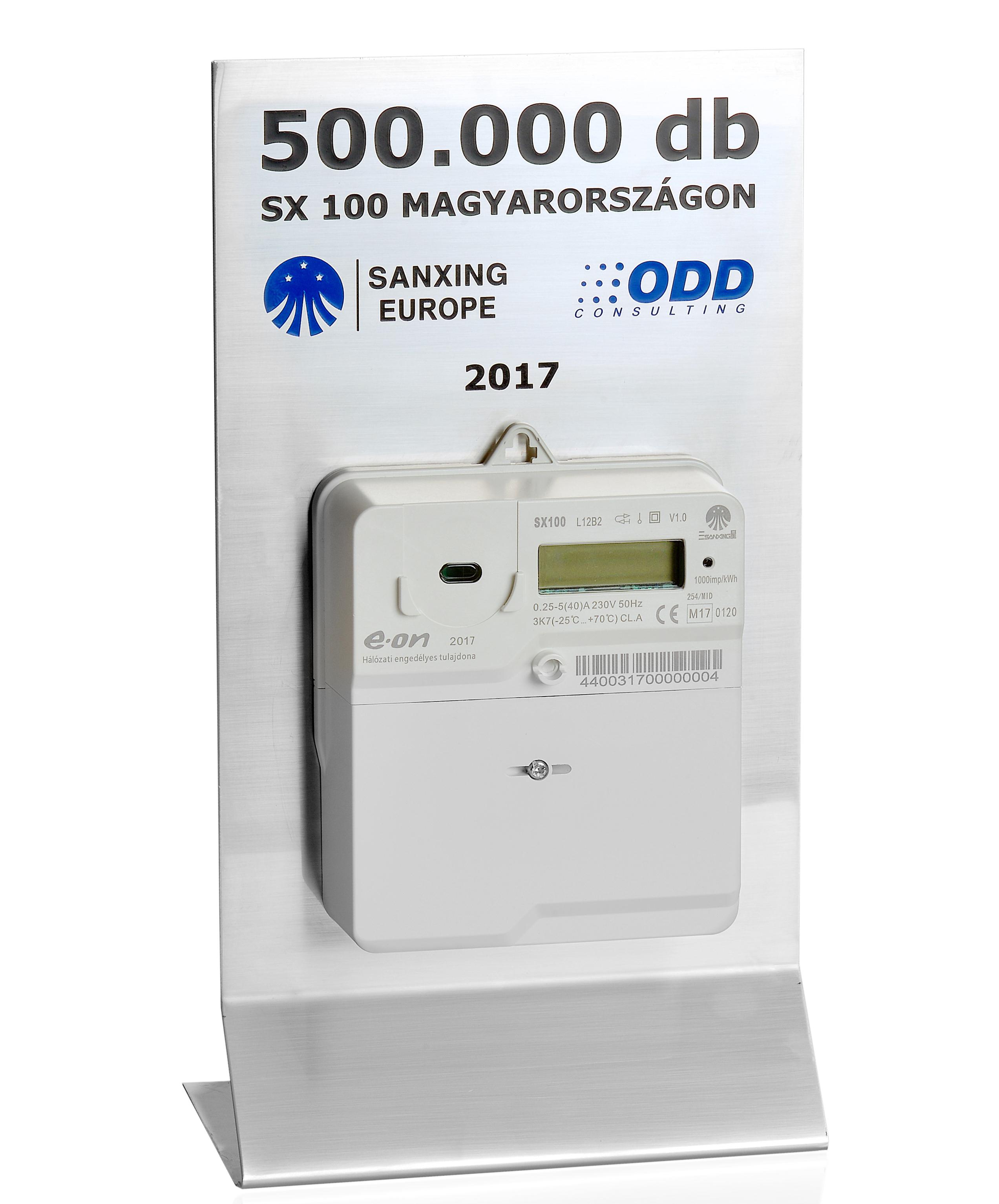 félmillió villamosenergiamérő