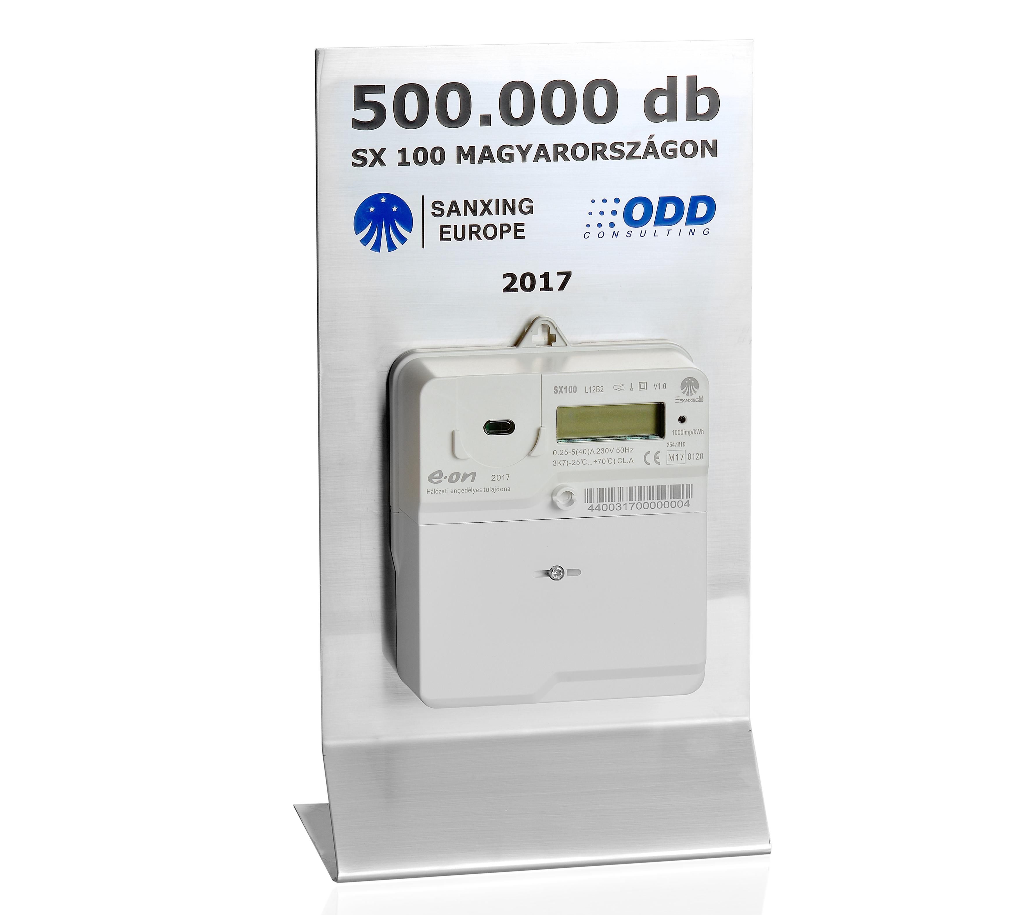 500000 mérőóra